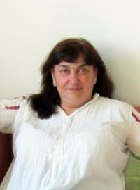 Gabriela Bairová - Stoyanová v dubnu 2012
