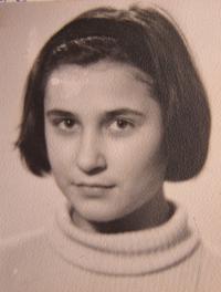Gabriela Bairová - Stoyanová v 11 letech