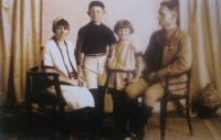 Jan Šabršula s rodiči
