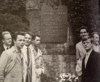S polskými studenty, 1962