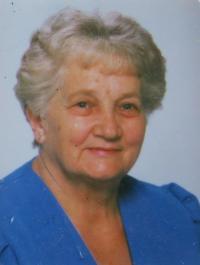 Marie Čechová v devadesátých letec