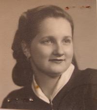 Marie Čechová v mládí