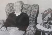 Otec pamětnice Václav Vlček