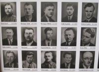 Fotografie mužů, kteří byli 5. května 1945 zavražděni v Javoříčku Lüdemannovým komandem