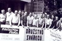 Družstvo svářečů, kde pracoval i pan Hubačka
