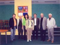 Dana Zátopková v roce 2007 v Dolních Bojanovicích na pozvání pana Hubačky