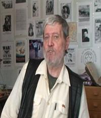 Ladislav Nykl behem natáčení rozhovoru
