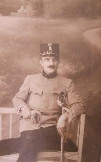 Otec pamětníka Jan Svačina st. v RU armádě