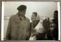 Svatební fotografie s manželem - 1959