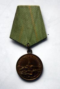 Vyznamenání Za obranu Leningradu