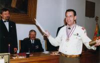 Granting of the honorary citizenship of Prague 3 - Žižkov in 2005