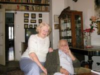 Pamětník s manželkou 2012
