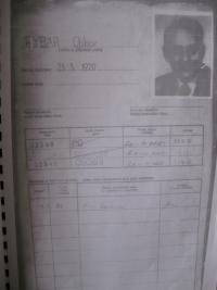 Obálka svazku osoby sledované StB z roku 1984