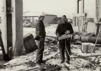Stavba panelárny v Malešicích, 70. léta