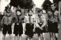 Photo from the Boy Scout chronicle