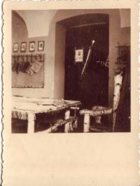 The clubroom of the 10th troop Hanáci