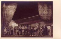 The theatre performance of the 10th troop Hanáci 4