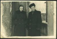 Hanna and Volodymyr Semkiv in Komsomol'sk-on-Amour, December 12, 1959