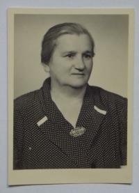 Aunt Marie Kvasničková