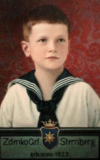 Zdeněk Sternberg - mladý