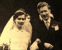 Svatba 10.5.1955 s Alžbětou Hrubou z Jelení
