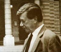 Zdeněk Sternberg ve Vídni kolem roku 1989