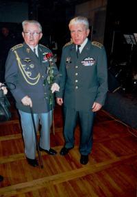 Pilots of RAF - Peřina and Boček