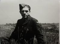 Emil Boček in 1943