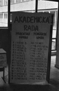 Jan Bubeník mezi funkcionáři Akademické rady