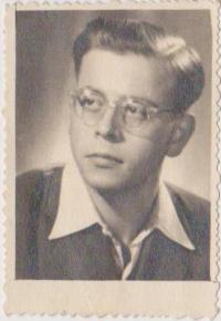 Josef Bachura as a young boy