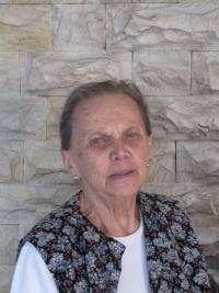 Jiřina Křížková v roce 2012