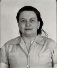Růžena Vacková - fotografie ze spisu StB