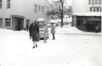 Svatba v Rokytnici nad Jizerou 10. ledna 1974