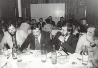Konference manželských poradců (zleva Petr Šmolka, Andrej Gjurić, Karel Kopřiva)