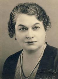 Babička Růžena Vacková