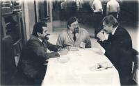 S Albertem Prouzou a Danielem Kroupou