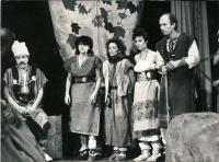 Divadelní hra Perunův rudý šíp aneb Den před velkým tahem