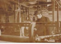 Rodinná tkalcovna před válkou