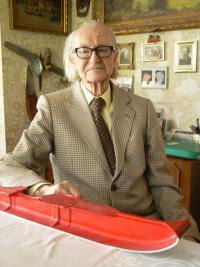 Adolf Linka v roce 2012