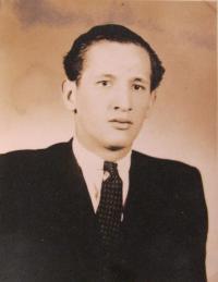 Bratr pamětníka Antonín Bocek, který také musel narukovat do wehrmachtu