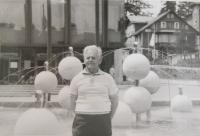 František Bocek v Drážděnech
