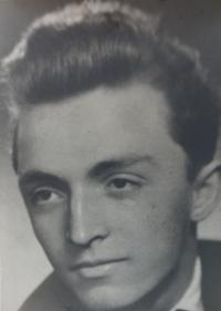 Maturitní fotka, 1953