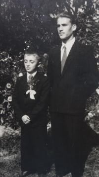 Biřmování, asi rok 1946