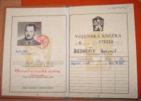 Military papers of Bohumil Bednařík