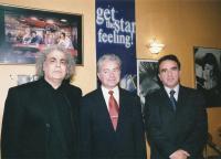 George Agathonikiadis dnes (nalevo)