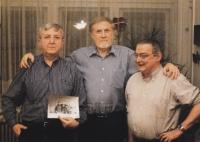 Pavel Bratinka, Tomáš Pštros, Vladimír Vaculka (28. 12. 2009)