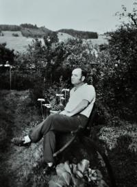 Karel Brhel na Vysočině / 1972