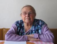 Libuše Hiemerová v únoru 2012