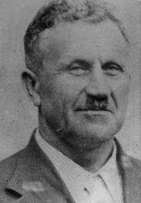 Otec Alois Dostál, který zemřel v Osvětimi