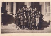 Mládež v Olomouci z církve  československé husitské